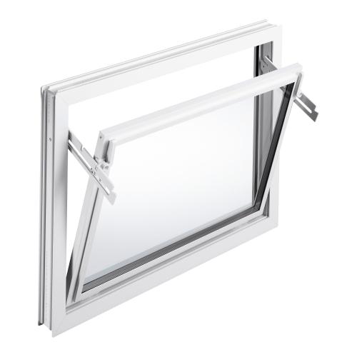 Mealon kunststoff fenster kipp iso 24 wei for Kunststofffenster shop