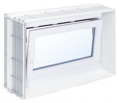 Mealuxit aqua basic 100 x 60 din rechts links for Kellerfenster konfigurator