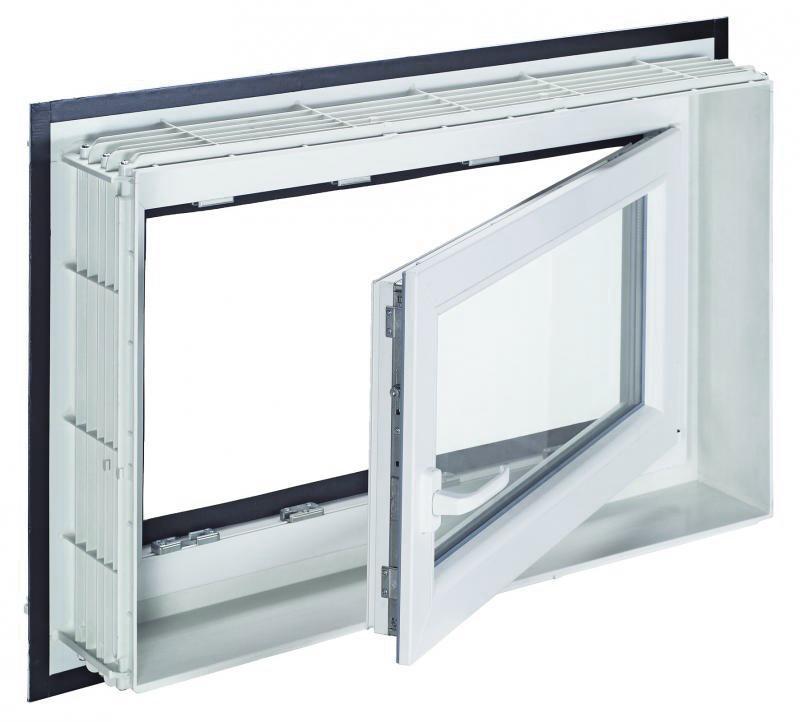 Mealuxit aqua plus 100 x 60 din rechts links for Fenster 60 x 30