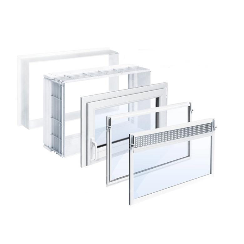 Wechselzarge und fenster b x h in cm 100 x 80 for Kellerfenster konfigurator