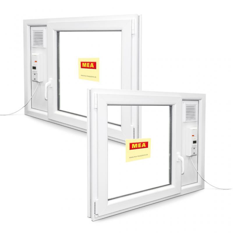 Dreh kipp dk l ftair mit integriertem l fter for Kunststofffenster shop