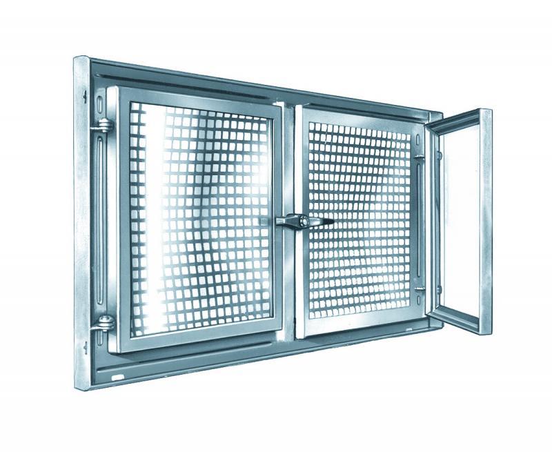 Stahlkellerfenster mealit zweifl gelig 90 x 50 cm for Kellerfenster shop